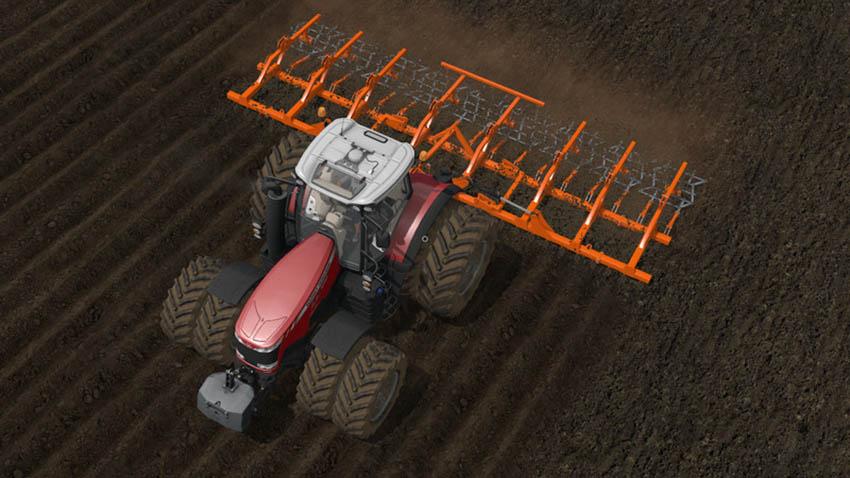 Laumetris LLK-10 Soil leveler V 1.0