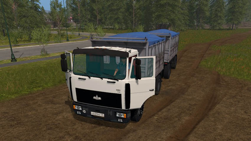 MAZ 5551 with trailer V 3.1