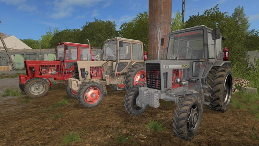 MTZ 80 And 82 Pack V 1.1