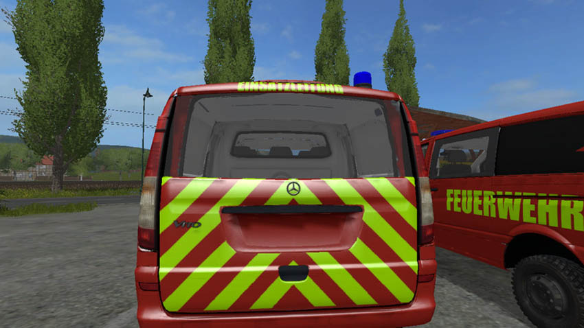 Mercedes-Benz Vito Skin Pack V 0.9