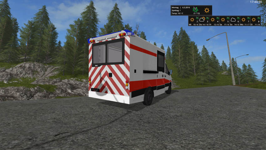 Mercedes Sprinter WAS Ambulance v 0.9