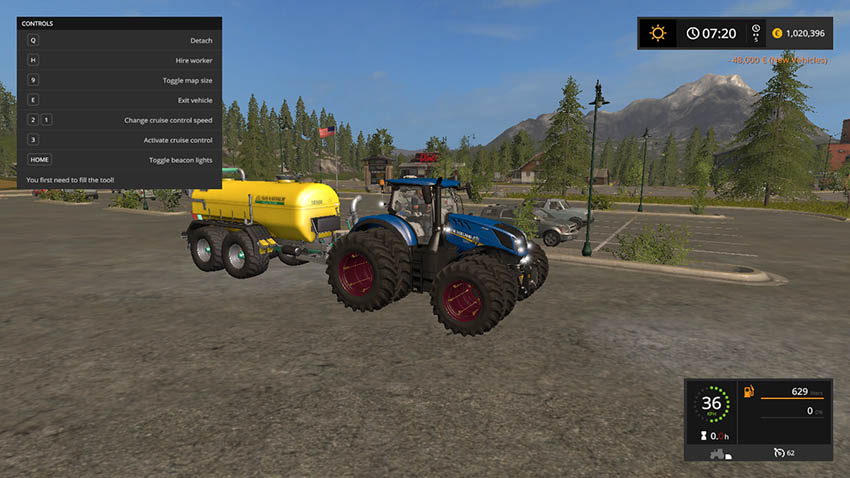 New Holland T7 V 1.3
