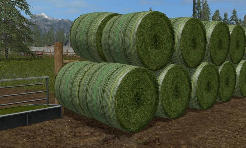 Photorealistic Round Bales V 1.0