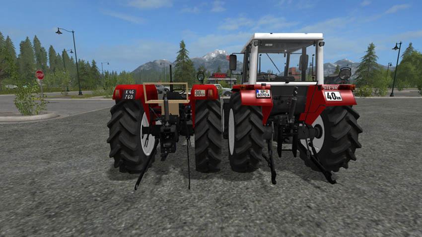 STEYR Plus 760 2WD V 1.0