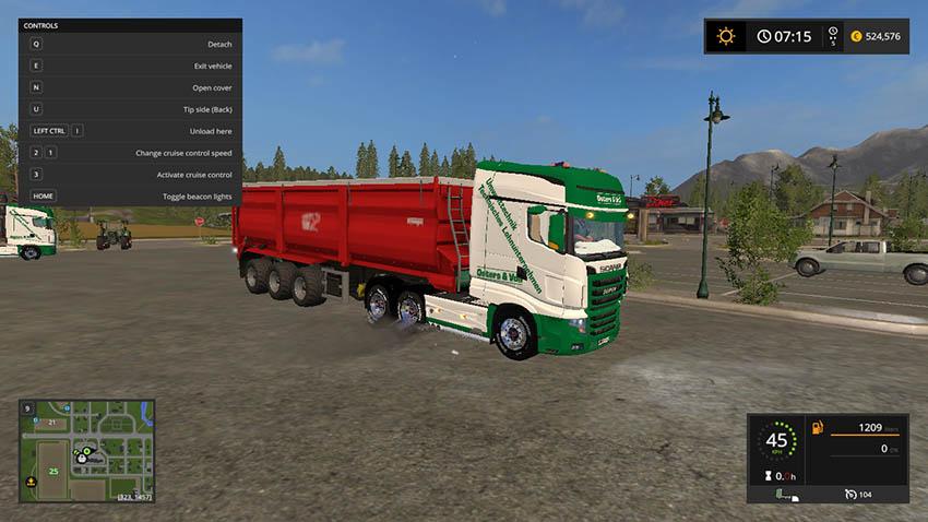 Scania R700 Easter & Voss V 1.0