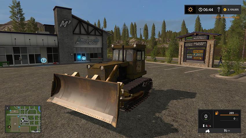T-130 bulldozer V 1.0