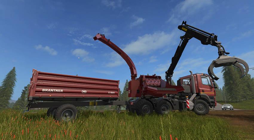 Tatra PHOENIX 6x6 with Jenz HEM583 Woodcrusher V 1.0