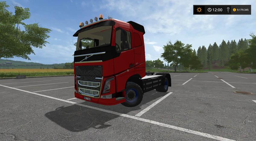 Volvo FH4 540 AGRICULTURAL V 1.1