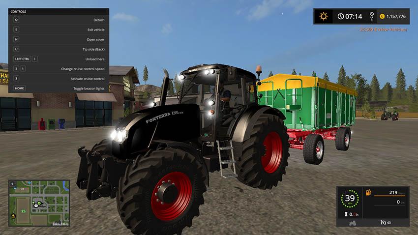 Zetor Forterra 135 Limited Black Edition