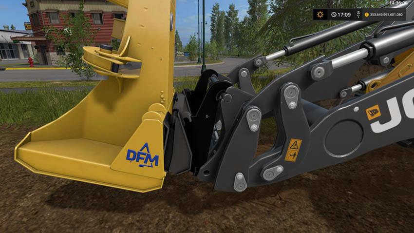 Adapter wheel loaders skid steer loaders V 1.0
