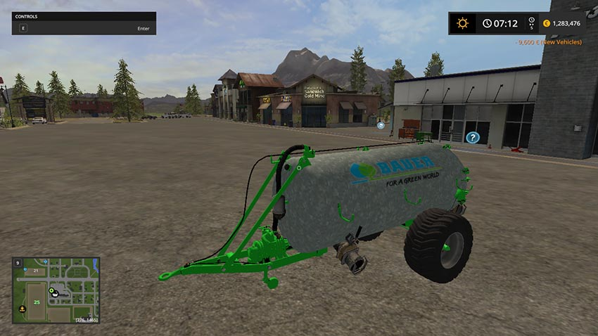 Bauer VB 60 Liquid manure spreader V 1.0