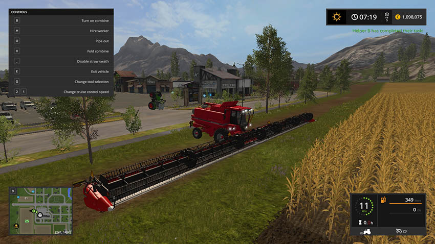 CASE IH 3162 90FT CUTTING BAR 27.50m V 1.0