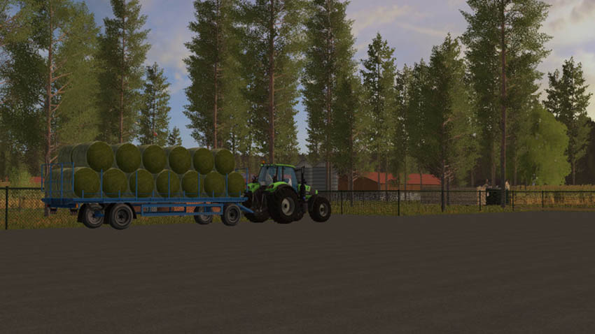 Deutz Fahr with Ball Chain v 1.0