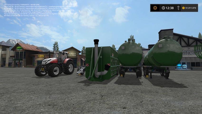 landwirtschafts simulator 2019 gülle auffüllen
