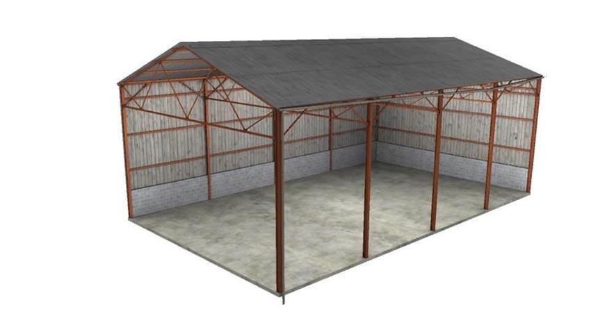 Hangar material Buildings V 1.0