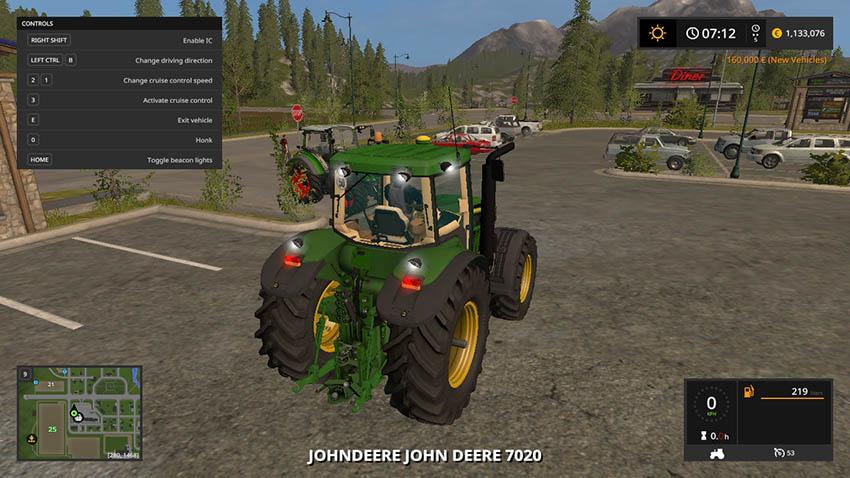 John Deere 7020 Series V 1.0