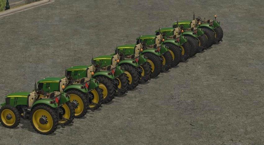 John Deere Serie 5M V 1.5