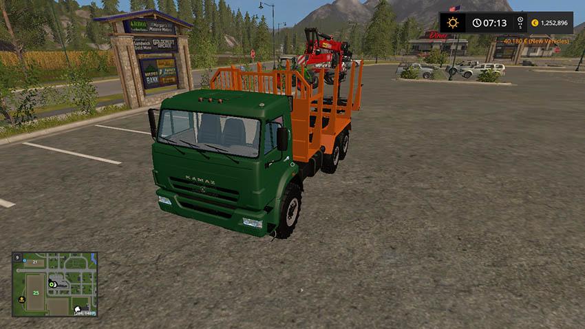 KamAZ 43118 Timber V 1.0