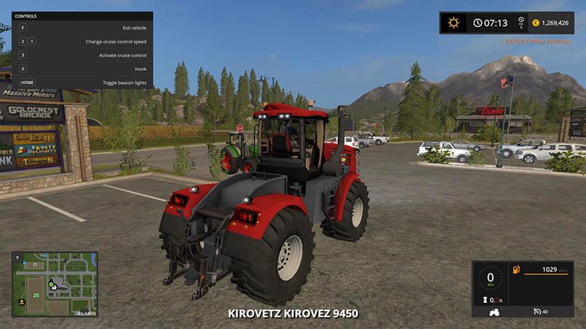 Kirovets K-9450 V 1.3.1