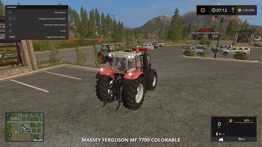 Massey Ferguson 7700 Collorable V Alle Farben