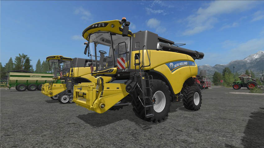 New Holland CR10.90 incl. Reapers V 1.1