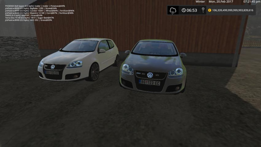 VW Golf 5 Pack V 1.0