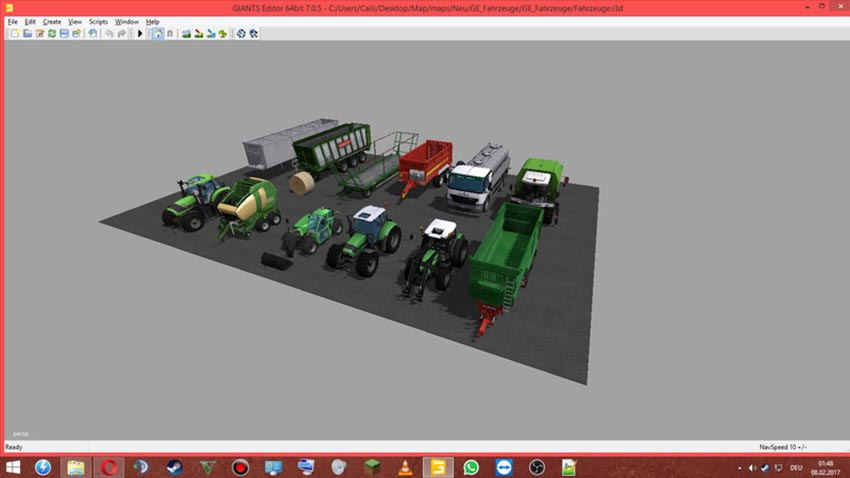 Vehicle Objects Packet for GE V 1.0