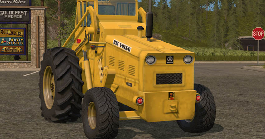 Volvo LM 218 Wheel Loader V 1.17.1