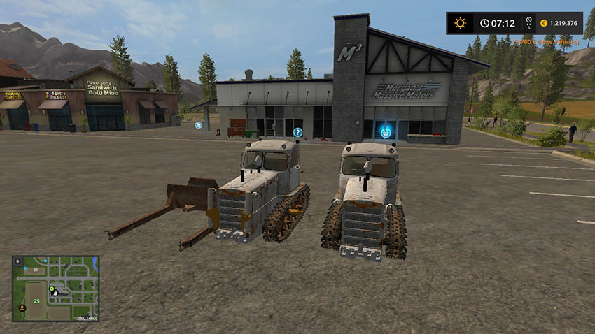DT-75 Kazakstan and leveler V 0.5
