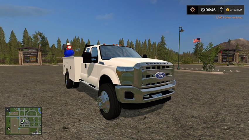 Ford F550 Service v 1.0