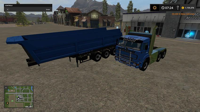 KamAZ Tuning and trailer V 1.0