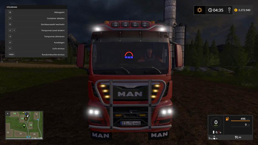MAN TGS HKL and ITRunner trailer v 2.0