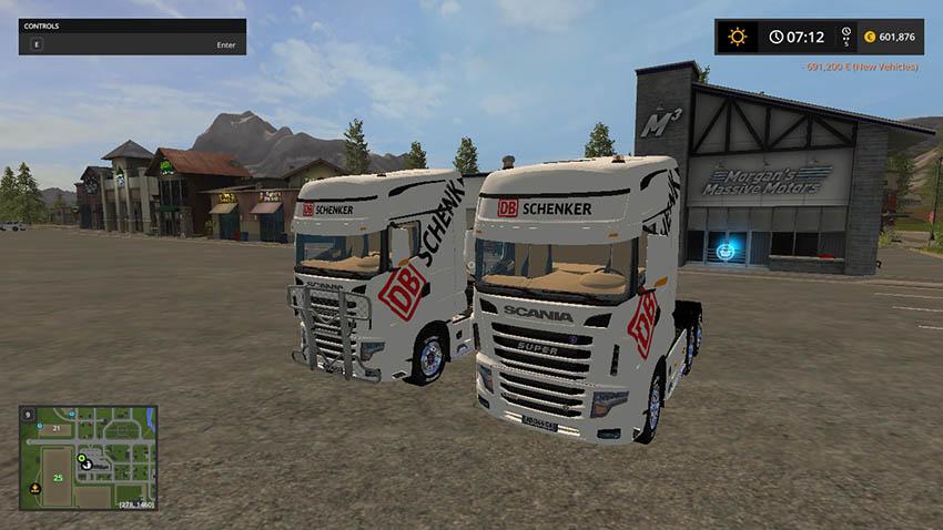 Scania R 700 V 1.0