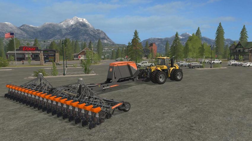 Amazone 20 row unit planter V 1.0