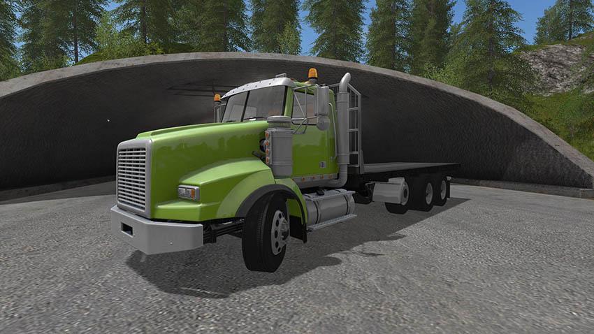 BBM Tri Axle Flat Bed Truck V 1.0