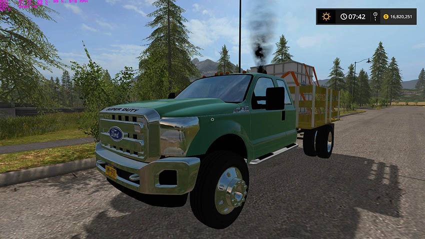 Ford F550 Stakebed V 1.0