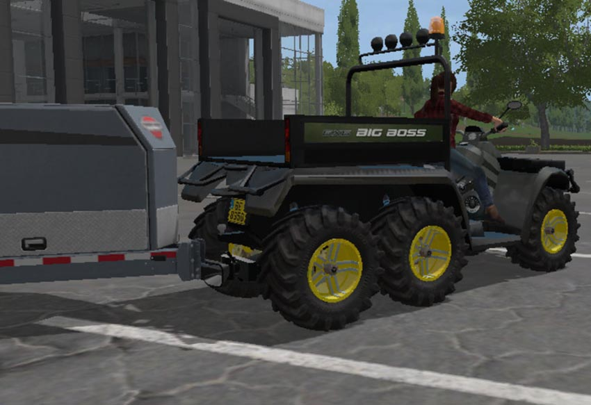 Quad POLARIS 6x6 V 1.0