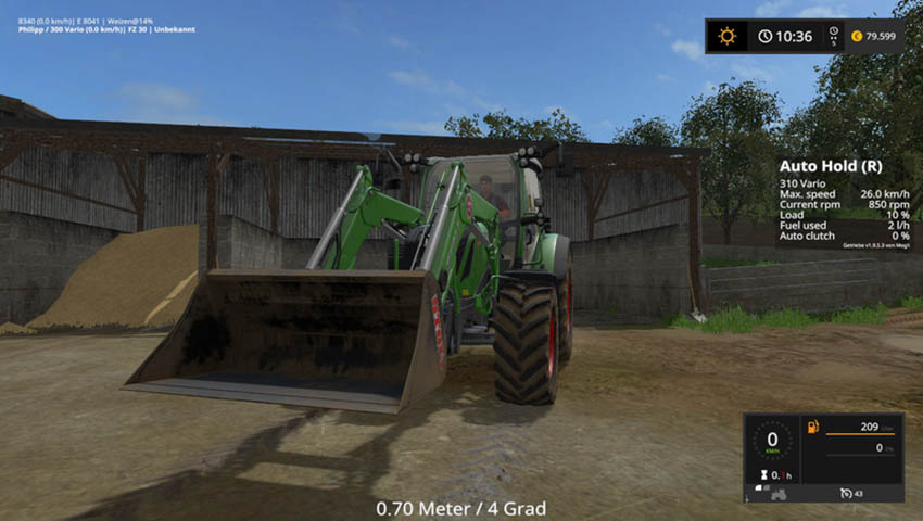 Stoll 1500mm Shovel V 1.0