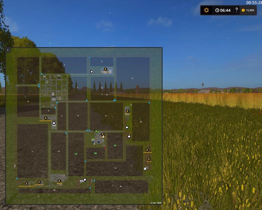 Westbridge Hills flat map V 1.2