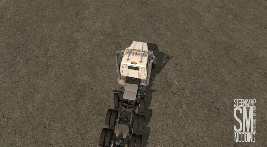 Western Star 4900 Steerable Tri Axle V 1.0