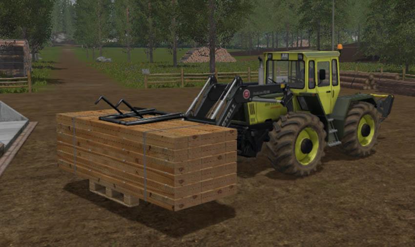 Wooden pallet gripper V 1.0