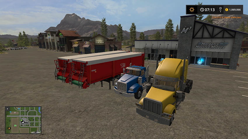 American Truck And Krampe SB3060 Trailers v 5.0