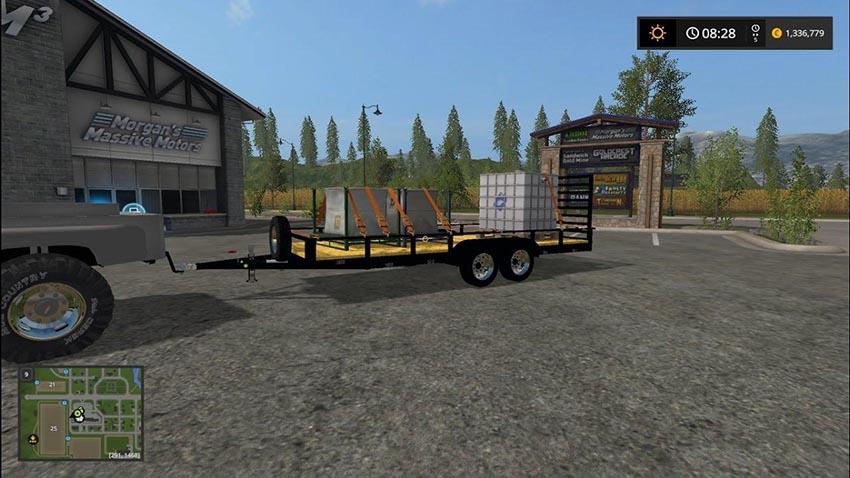 Dual Axle Utility Trailer v 1.0