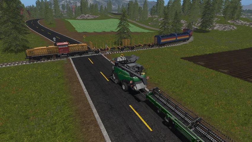 Goldcrest Valley Paved Roads v 1.0