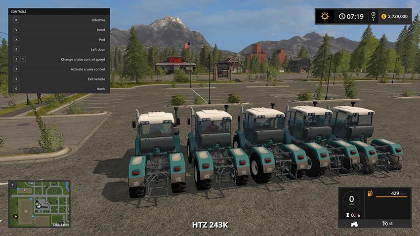 HTZ 243K and 280T v 3.1.0