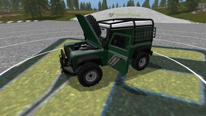 Land Rover Defender 90 V 1.0