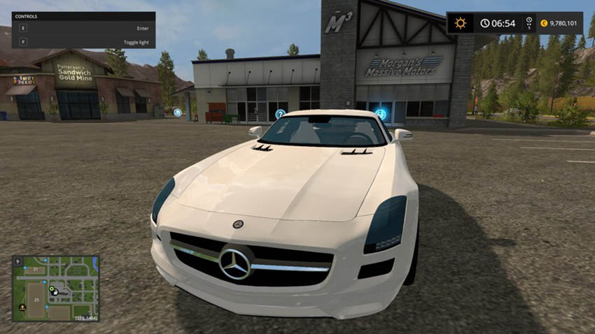Mercedes SLS AMG V 2.0