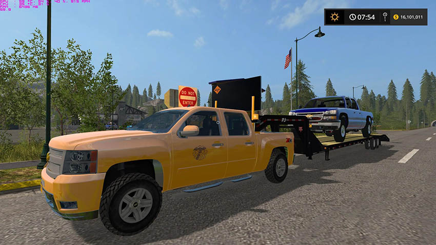New York DOT Silverado 1500 v 2.0