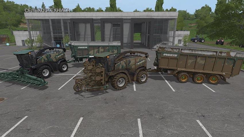 New Holland Forage Pack v 2.5