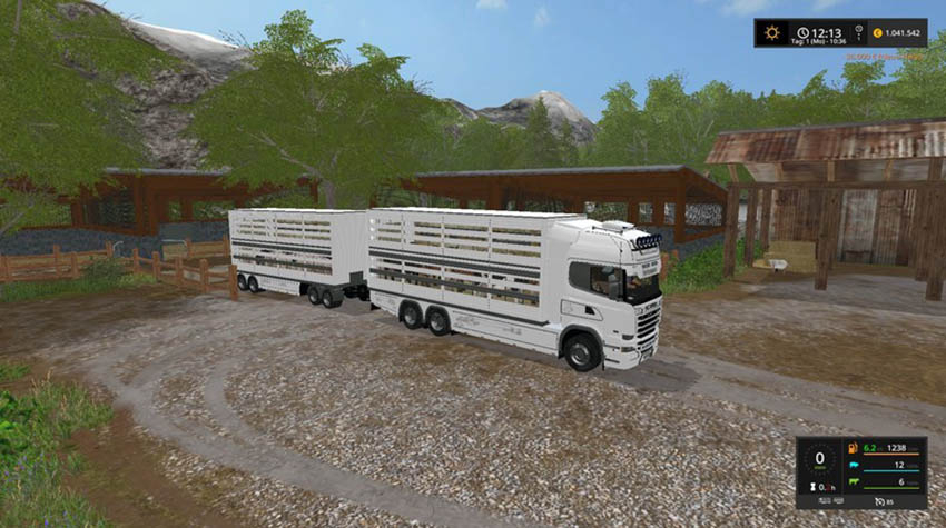 Scania Viehtransporter V 2.0